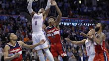 Russell Westbrook dominates late, posts 4th straight triple-double to beat Wiz