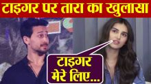Tara Sutaria reveals she has crush on Tiger Shroff, her Student Of The Year 2 co actor