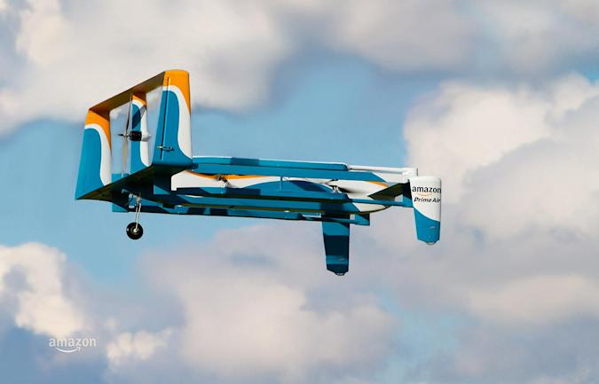 Amazon exec explains how Prime Air delivery drones will work