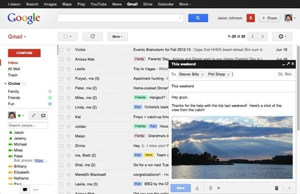 Gmail composer goes to a simple pop-up, gives multitaskers freedom to fly