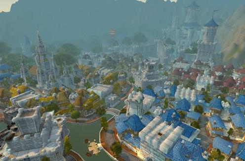 Designing WoW: It takes a village -- no, a city
