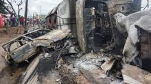 Nigerian gas tanker explosion kills at least 28