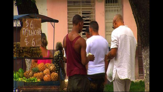 In Cuba, economics of food changing
