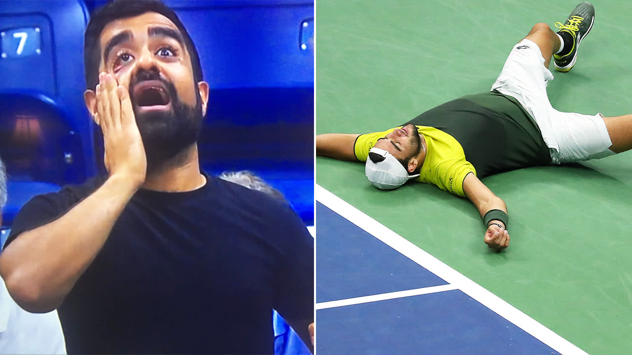 'Absolutely insane': Tennis fans melt down over 'crazy' US Open drama