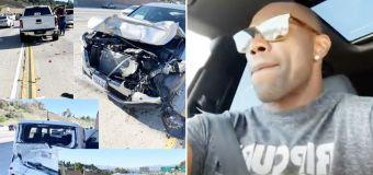 NFL legend in crash after test-driving $150,000 car