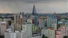 """La extraña historia del """"hotel fantasma"""" de Corea del Norte que nunca tuvo un huésped"""