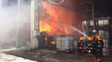 Fire at waste management plant in Jurong, no injuries