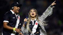 Cantora Lexa será a apresentadora da live de aniversário do Vasco