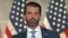 Fox News Cuts Away From Donald Trump Jr's Comments on Trans Women