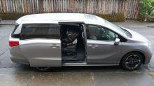 2021 Honda Odyssey Infant Car Seat Driveway Test