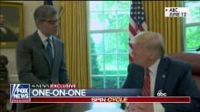 Media uproar over Trump's ABC interview