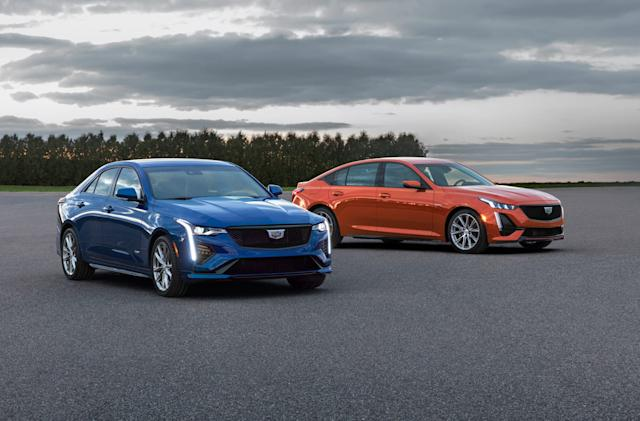 Cadillac reveals performance sedans with hands-free SuperCruise