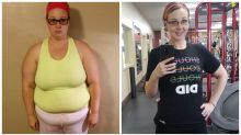 Mum loses 50kg after ditching 4,000 calorie diet