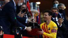 Lionel Messi shines as Barcelona dominate Athletic Bilbao to lift Copa del Rey