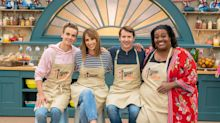'Celebrity Bake Off': Joe Sugg buries competition with 'exquisite' biscuit tomb
