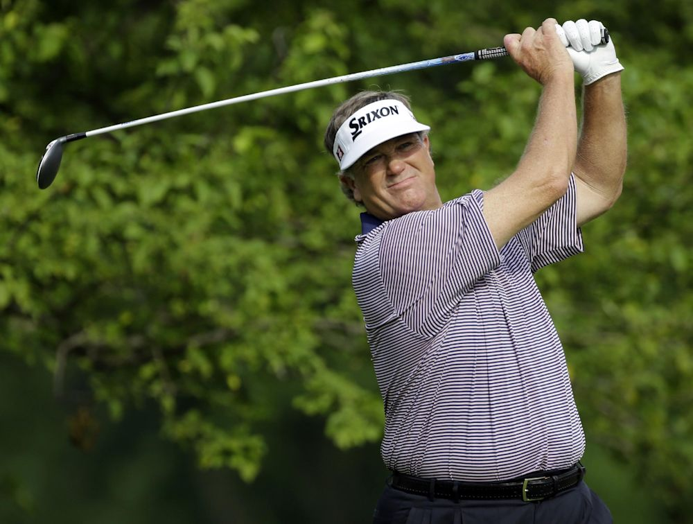 Haas, Jacobsen lead Legends of Golf