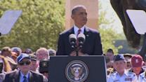 Obama salutes veterans on D-Day's 70th anniversary