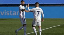 Karim Benzema and Eden Hazard on target as Real Madrid rise to LaLiga summit