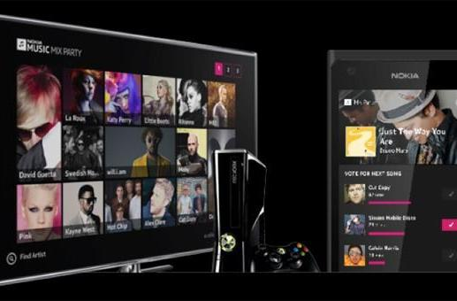 Microsoft and Nokia launch Music Mix Party, let friends share a streaming Xbox playlist (video)