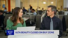 Ulta Beauty Closes On Buy Zone
