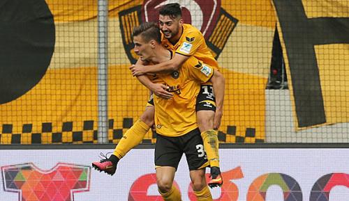2. Liga: Dank Kutschke: Dresden wahrt Aufstiegschance