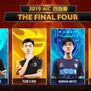 《Garena傳說對決》2019 AIC國際賽四強名單出爐 GCS賽區代表隊HKA強勢挺進四強 全力爭取最高榮耀!