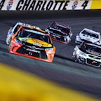 Sticky substance to be added to top groove in corners for Coca-Cola 600