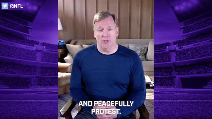 Roger Goodell: 'We were wrong' on prior protests, NFL believes 'black lives matter'