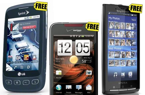 Best Buy Mobile will offer free smartphones, mostly Android, every day in December