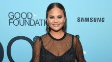 Chrissy Teigen claims eating placenta helped her avoid postpartum depression after second pregnancy