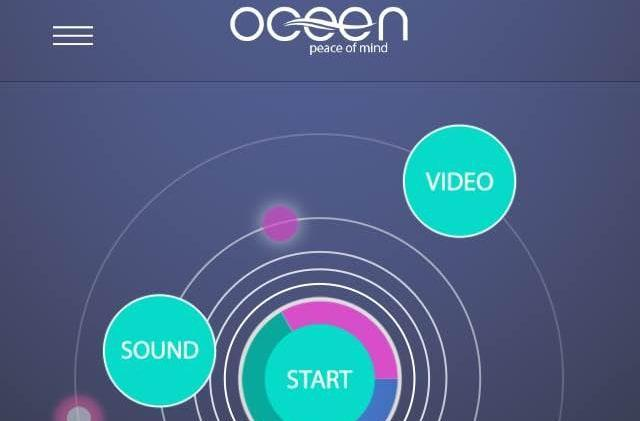 Zen out with Oceen's relaxing sounds and guided meditations
