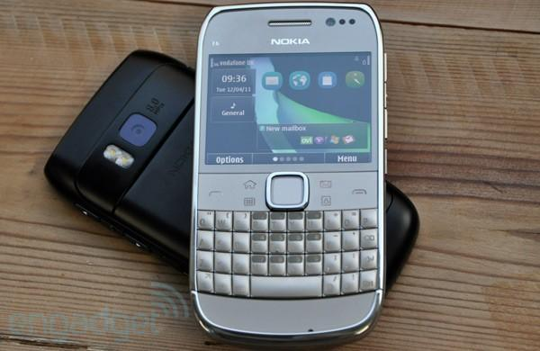 Nokia E6 first hands-on! (updated with video)