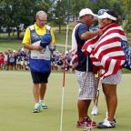 Golf: United States crush Europe to retain Solheim Cup