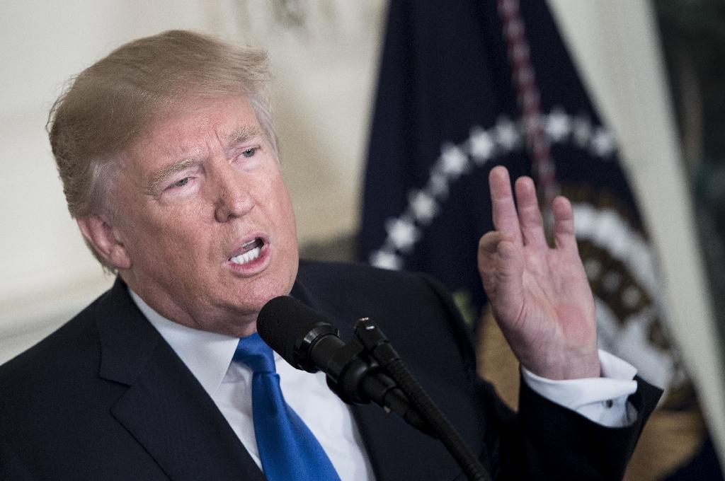 "President Donald Trump sharply criticized Iran and the international agreement aimed at curbing its nuclear program Friday, refusing to certify Tehran's compliance and warning the United States could pull out at any time.  Trump denounced the Iranian government as a ""fanatical regime"" that"