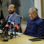 Malaysia's Mahathir slams tech giants for removing posts