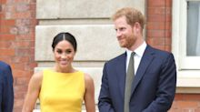 Meghan Markle is radiant in yellow $1,495 Brandon Maxwell dress