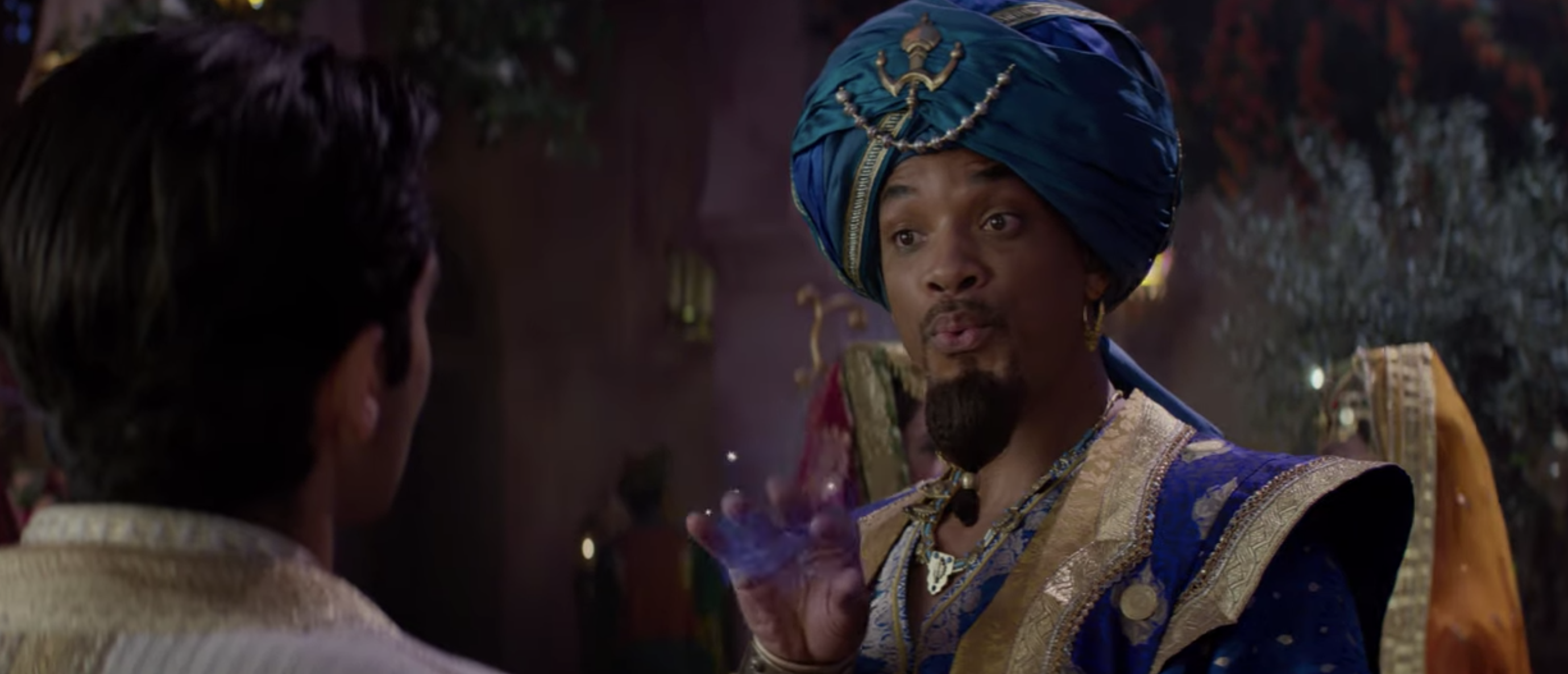 Will Smith Sings But A Whole New World Wins The New Aladdin Trailer