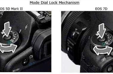Canon will now add locking mode dial to your EOS 5D Mark II or 7D... for $100
