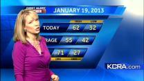 Eileen's Saturday Morning Forecast 1.19.13