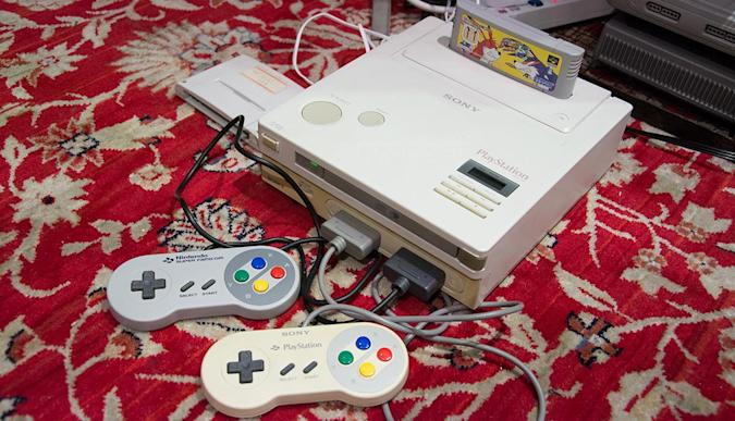 We turned on the Nintendo PlayStation: It's real and it works