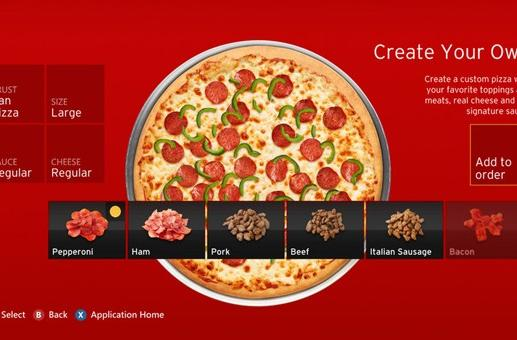 Pizza Hut app comes to Xbox 360, unstoppable force meets immovable gamer