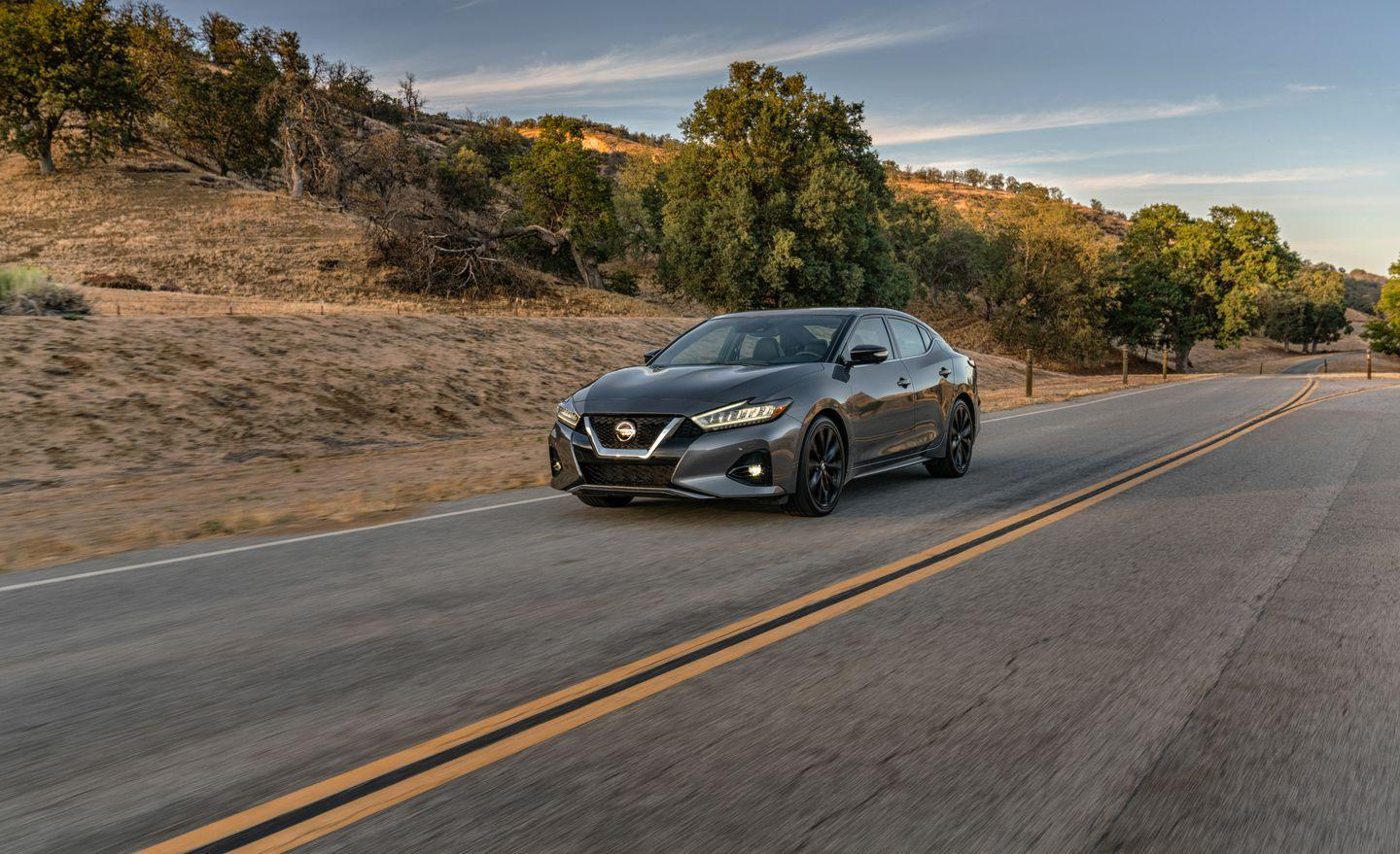 The New and Improved 2019 Nissan Maxima in Photos