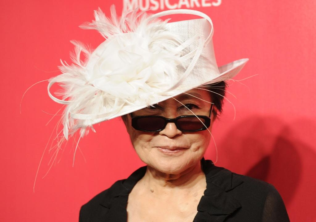 Yoko Ono, pictured here in 2012, is releasing a new album for peace