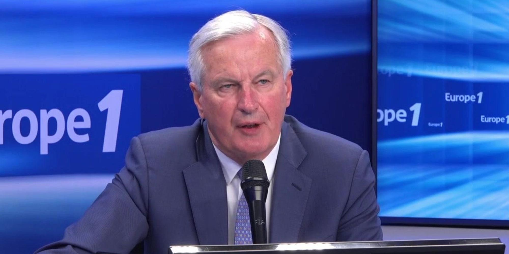 Michel Barnier est l'invité du Grand Rendez-vous dimanche sur Europe 1