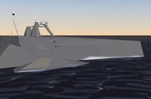SAIC shows how DARPA's submarine-tracking drone ship finds its silent targets (video)