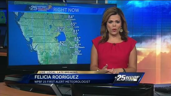 First Alert Forecast: Rain, clouds keep temperatures down; Chantal still hanging on