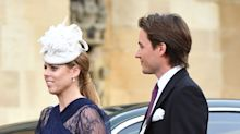Princess Beatrice and boyfriend attend royal wedding together: Photos!