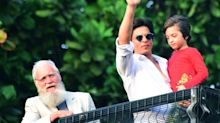 See pics: David Letterman joins SRK's Eid meet with fans