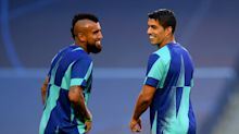 Suarez, Vidal again absent for Barca friendly amid Serie A speculation