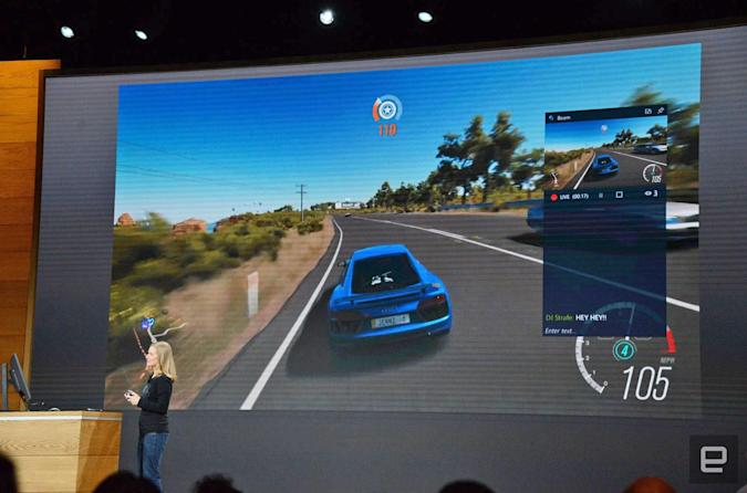 Microsoft built Twitch-like livestreaming into Windows 10